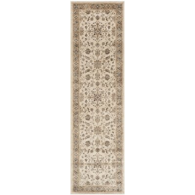 Rindge Stone / Caramel Oriental Rug Rug Size: Runner 22 x 72