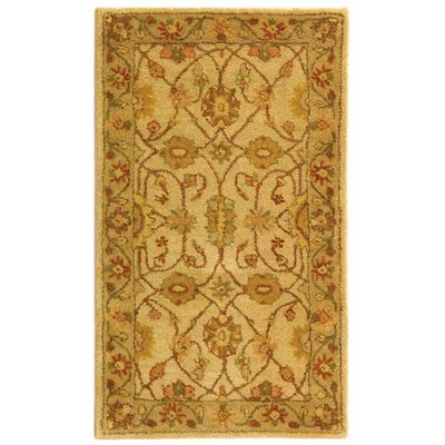 Dunbar Ivory/Light Green Area Rug Rug Size: Rectangle 23 x 4