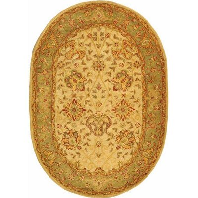 Dunbar Ivory Area Rug Rug Size: Rectangle 76 x 96
