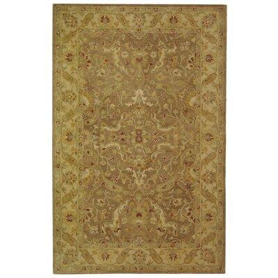 Dunbar Brown/Gold Area Rug Rug Size: 5 x 8