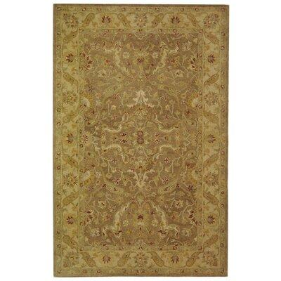 Dunbar Brown/Gold Area Rug Rug Size: 6 x 9