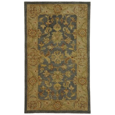 Dunbar Blue/Beige Area Rug Rug Size: Rectangle 23 x 4