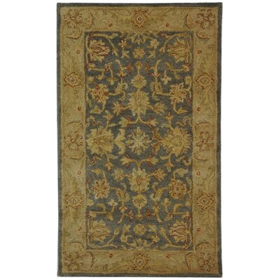Dunbar Blue/Beige Area Rug Rug Size: Rectangle 12 x 18