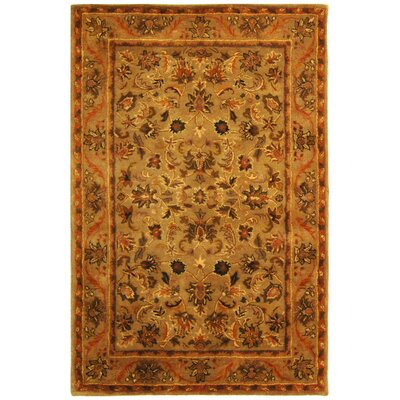Dunbar Brown Area Rug Rug Size: Rectangle 4 x 6