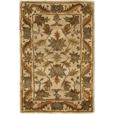 Dunbar Beige Area Rug Rug Size: Rectangle 26 x 5
