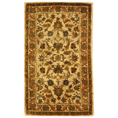 Dunbar Beige Area Rug Rug Size: Rectangle 3 x 5