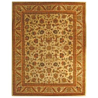 Dunbar Beige Area Rug Rug Size: Rectangle 76 x 96