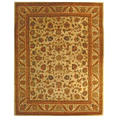 Dunbar Beige Area Rug Rug Size: Rectangle 96 x 136