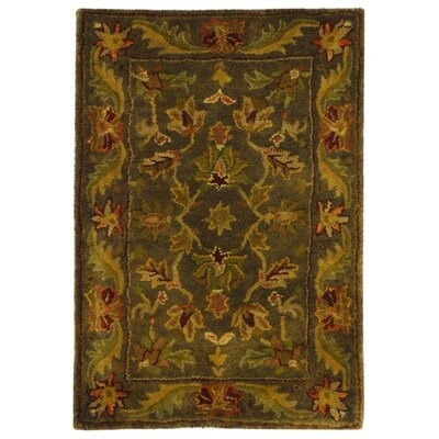 Dunbar Charcoal Area Rug Rug Size: Rectangle 2 x 3
