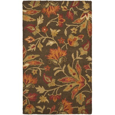 Bradwood Brown/Multi Area Rug Rug Size: 5 x 8