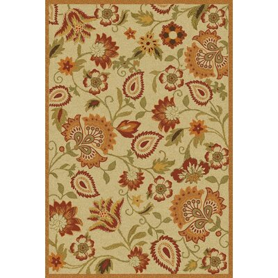 Bradwood Beige/Multi Area Rug Rug Size: 5 x 8