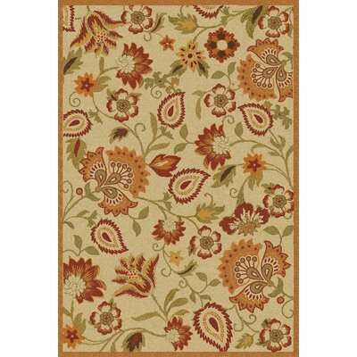 Bradwood Beige/Multi Area Rug Rug Size: 4 x 6