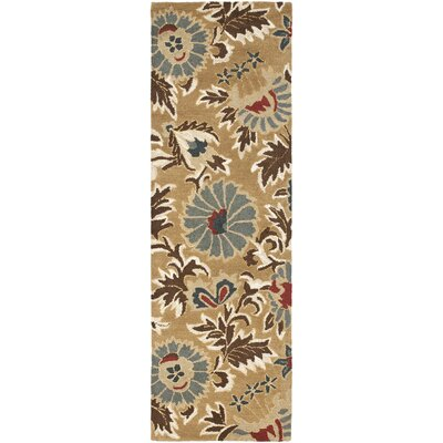 Bradwood Beige/Multi Area Rug Rug Size: Runner 23 x 6