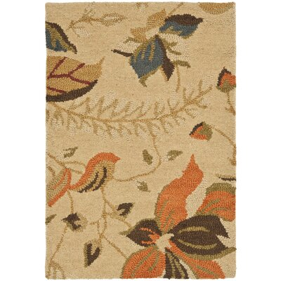 Bradwood Beige/Multi Area Rug Rug Size: 26 x 4
