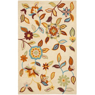 Bradwood Beige Area Rug Rug Size: Rectangle 5 x 8