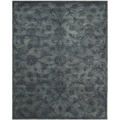 Dunbar Grey Area Rug Rug Size: 9 x 12