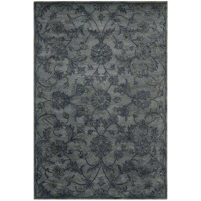 Dunbar Grey Area Rug Rug Size: 4 x 6