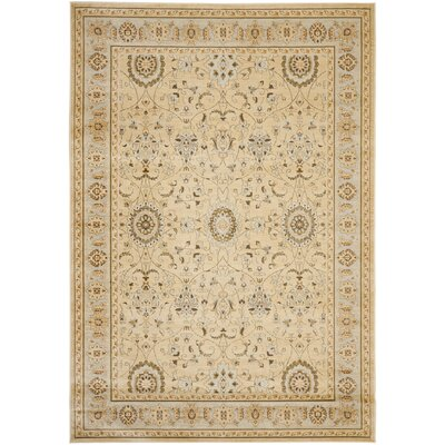Lavelle Ivory Area Rug Rug Size: 9 x 12