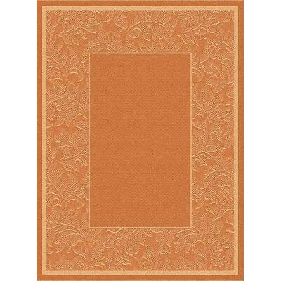 Alderman Terracotta/Natural Outdoor Rug Rug Size: 4 x 57