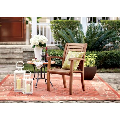 Alderman Terracotta/Cream Indoor/Outdoor Rug