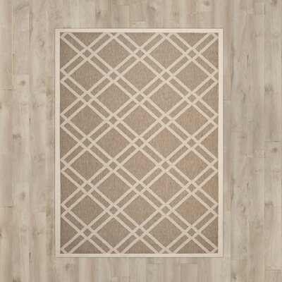 Octavius Brown Indoor/Outdoor Area Rug Rug Size: Rectangle 2 x 37