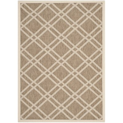 Octavius Brown Indoor/Outdoor Area Rug Rug Size: Rectangle 9 x 12