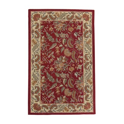 Helena Floral Area Rug Rug Size: 18 x 26