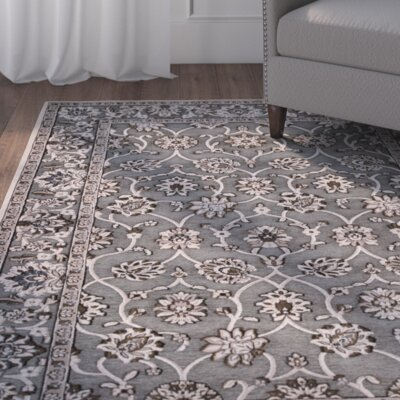 Morgantown Slate Gray Area Rug