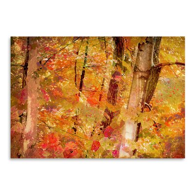 Fall Forest Painting Print