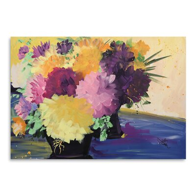 Flowers Painting Print Size: 11