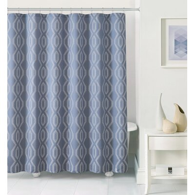 Sagers Shower Curtain Color: Dusty/Blue