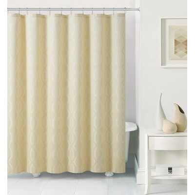 Sagers Shower Curtain Color: Wheat