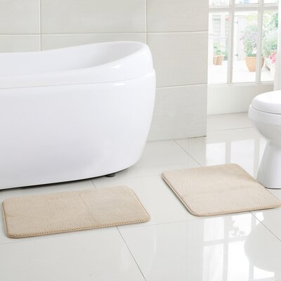 Clarkstown Bath Rug Color: Beige