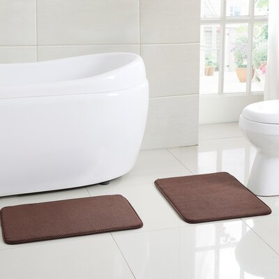 Clarkstown Bath Rug Color: Chocolate