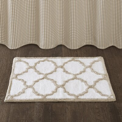 Bath Rug Size: 24 x 40, Color: Taupe