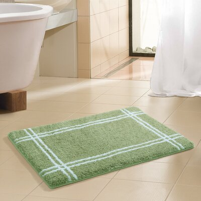 Memory Foam Bath Mat in Green