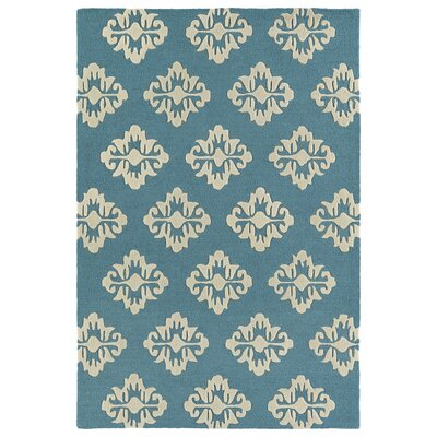 Bryant Handmade Turquoise Area Rug Rug Size: Rectangle 5 x 7
