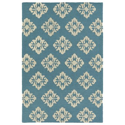 Bryant Handmade Turquoise Area Rug Rug Size: 8 x 10