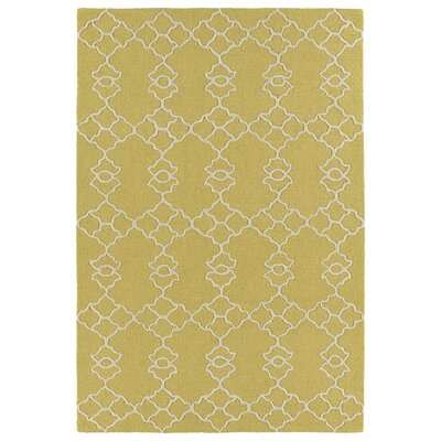 Bryant Handmade Gold Area Rug Rug Size: Rectangle 5 x 7