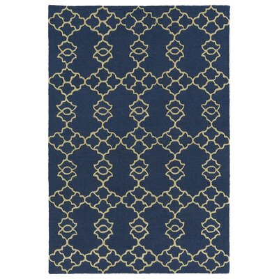Bryant Handmade Blue Area Rug Rug Size: Rectangle 8 x 10