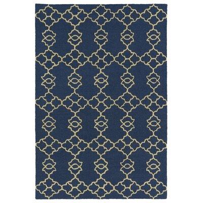 Bryant Handmade Blue Area Rug Rug Size: 5 x 7