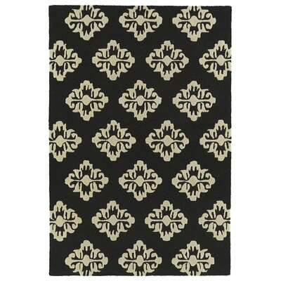 Bryant Handmade Black Area Rug Rug Size: Rectangle 8 x 10