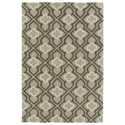 Bryant Handmade Gray Area Rug Rug Size: 3 x 5