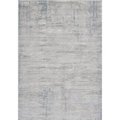 Hoagland Ivory Area Rug Rug Size: Rectangle 5 x 76