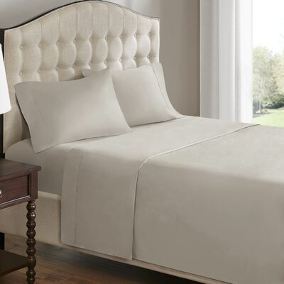 Charbonneau Pillow Case Size: King, Color: Ivory