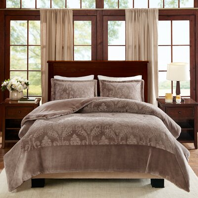 Carpentersville Comforter Set Size: Full/Queen, Color: Taupe