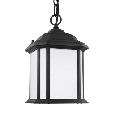 Crandall Single Light Pendant Finish: Black