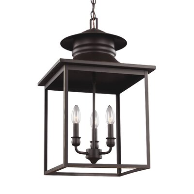 Crandall Single Light Pendant Finish: Heirloom Bronze