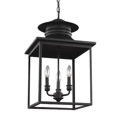 Crandall Single Light Pendant Finish: Blacksmith