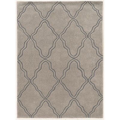Coggins Hand-Tufted Gray Area Rug Rug Size: 8 x 10